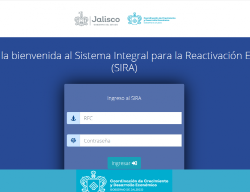 PROCESO DE REGISTRO EN EL SIRA PARA DISTINTIVO.