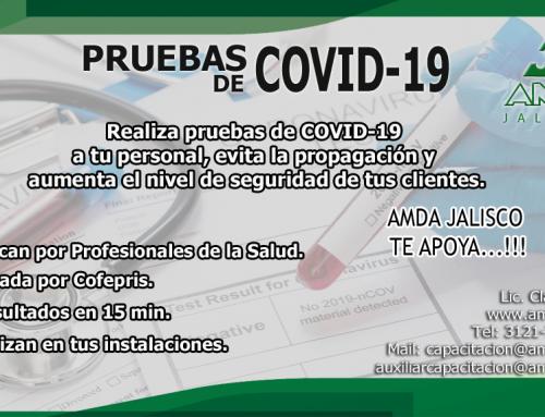 Pruebas de COVID-19