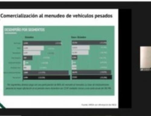 Concluyó venta al menudeo de vehículos pesados el 2020 con baja de 35.5 por ciento