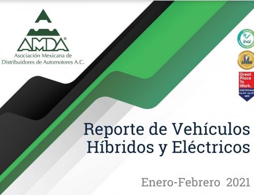 Reporte de Vehículos Híbridos y Eléctricos – Febrero 2021
