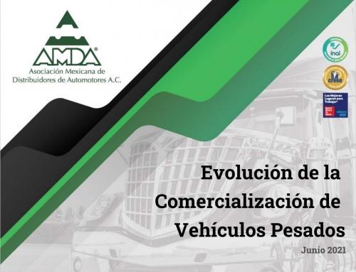 Reporte Evolución de Comercialización de Vehículos Pesados- Junio 2021
