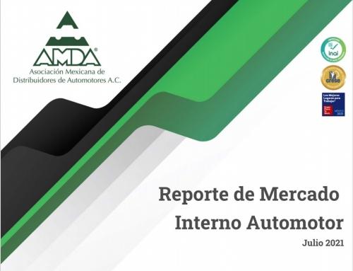 Reporte de Mercado  Interno Automotor Julio 2021